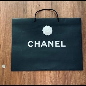 Authentic Chanel Extra Large shopping paper bag